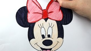 Download How to Draw Minnie Mouse - Easy Drawing Tutorial Video