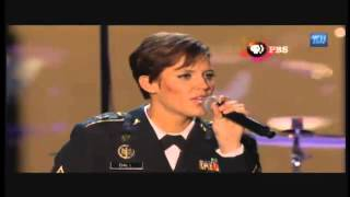 Download Standing Ovation: Rising Fawn Soldier Sings at Video