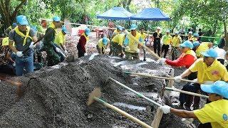 Download タイ洞窟近くで片付け ボランティア4千人 Video