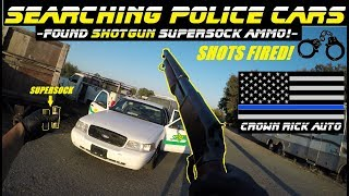 Download Searching Police Cars Found SuperSock ShotGun Ammo! Video