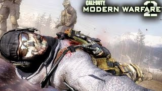 Download Call of Duty Modern Warfare 2: Ghost and Roach Death Mission Gameplay Veteran Video