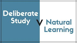 Download Deliberate Language Study Versus Natural Learning Video