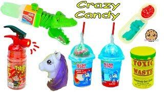 Download Crazy Weird Candy Haul Video - Spray Sour Candies, Juicy Drop Gum + More Video