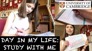 Download DAY IN MY LIFE: STUDY WITH ME AT CAMBRIDGE UNI Video