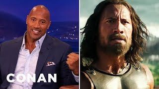 Download Dwayne Johnson Blacked Out Filming ″Hercules″ Video