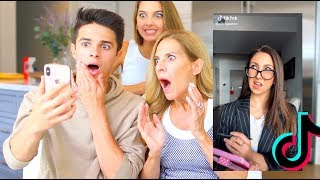 Download MOM REACTS TO TIKTOK TRENDS! | Brent Rivera Video