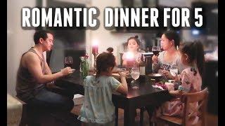 Download Romantic Non-Vegan Dinner for 5 - ItsJudysLife Vlogs Video