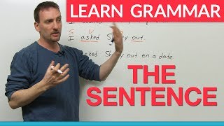 Download Learn English Grammar: The Sentence Video