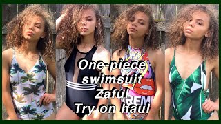 Download One-piece Try On Swimsuit Haul & Zaful Review | Viah Lee Video