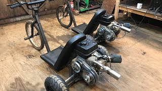 Download rebuilding my old motorized drift trikes part 2 Video