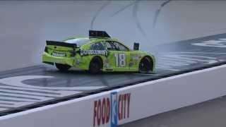 Download NASCAR Kyle Busch crashes during qualifying   Bristol (2013) Video