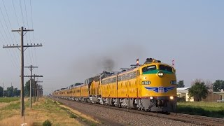 Download [HD] BNSF and UP in Colorado, Wyoming, and Nebraska on July 19, 2014 Video