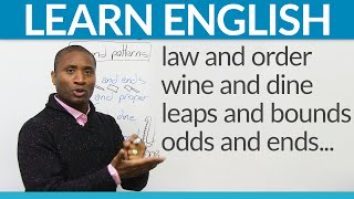 Download Learn English Expressions: What are binomials? Video