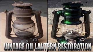 Download Cazy Rusty Oil Lamp Restoration..With a twist! Green Lantern Video