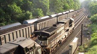 Download Intense 3-way Train Meet Cassandra, PA 06/27/2016 Video