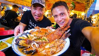 Download GIANT LOBSTER TOM YUM!! Insane Thai Street Food at Night Market in Bangkok, Thailand! Video