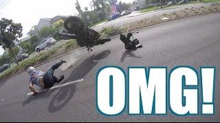 Download Violent Motorcycle CRASH! Video