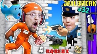 Download ROBLOX JAILBREAK! FGTEEV Escapes Jail @ 3am! Corrupt Cop Chase & Baby Shawn! Best Prison Ever (#32) Video