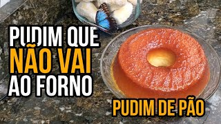 Download PUDIM DE PAO QUE NAO VAI AO FORNO,BREAD PUDDING THAT DOESNT GO TO THE OVEN Video