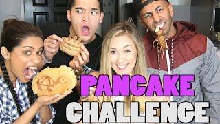 Download PANCAKE ART CHALLENGE! ft. SuperWoman | FouseyTube | LaurDIY Video
