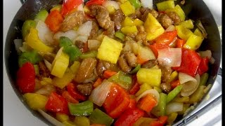 Download Como hacer pollo agridulce - Comida China. Sweet and sour chicken Video