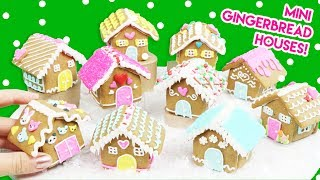 Download How to Make Mini Gingerbread Houses (100% Edible)! Video
