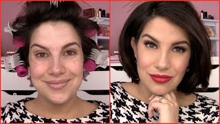 Download GET READY WITH ME! Old Hollywood Holiday Makeup Video