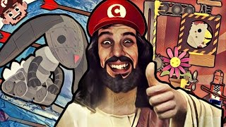 Download VIDEO GAME JESUS | Return of the DEATH Wave! (Ultimate Chicken Horse) Video