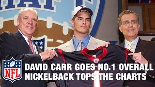 Download David Carr goes 1st & Nickelback tops the charts!   2002 NFL Draft Rewind   Good Morning Football Video