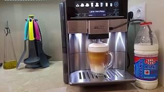 Download ekspres ciśnieniowy Siemens EQ.6 TE607203RW test latte macchiato Bosch TES60523RW Video