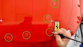 Download How To Correctly ″Paint Touch-Up″ Stone Chips On Your Car To Get The Best Results! Video
