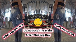Download Do Not Use Stairs After This Leg Day | Ultimate Leg and Glute Workout | GWM - 26 Video