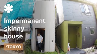 Download Tokyo's impermanent skinny house made to age well with owners Video
