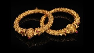 Download Latest Gold Broad Bangles Collection Gold Kada bangle designs!!!!!!! Video