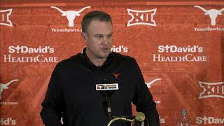Download Tom Herman press conference [Nov. 20, 2017] Video