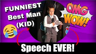 Download BEST Best Man Speech ever! and by a 7 year old Video
