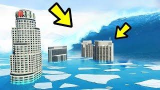 Download GTA 5 - FROZEN Tsunami & Ice Age!! (Natural Disaster) Video