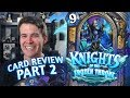 Download (Hearthstone) Knights of the Frozen Throne: Card Review Part 2 - Paladin, Priest and Rogue Video