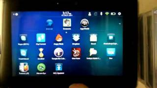 Download Android Market on BlackBerry PlayBook (rooted) Part 1 Video