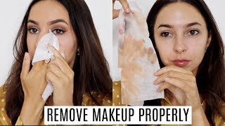 Download HOW TO PROPERLY REMOVE YOUR MAKEUP | Double Cleansing Video
