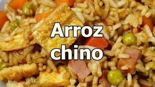Download receta ARROZ FRITO CHINO TRES DELICIAS - recetas de cocina faciles rapidas y economicas de hacer Video