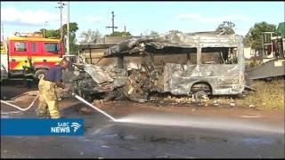 Download Minister Angie Motshekga visits schools following fatal crash Video