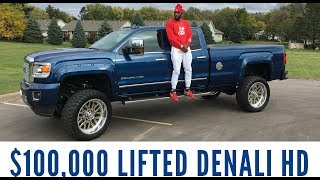 Download Organik car review: $100,000 2016 GMC LIFTED DURAMAX Denali Truck Video