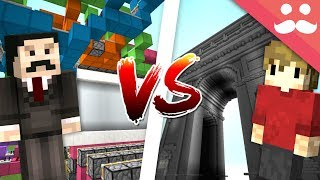 Download MINECRAFT REDSTONE VS BUILDING! (Mumbo VS Grian) Video
