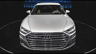 Download WORLD PREMIERE! - The 2018 AUDI A8 - SO MUCH TECHNOLOGY! (autonomous, new cockpit, suspension etc) Video