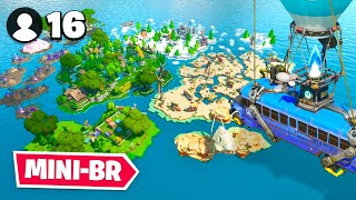Download *NEW* 16 Player MINI BATTLE ROYALE Map In Fortnite Creative! Video