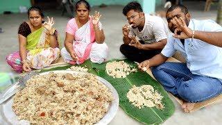 Download White CHICKEN GHEE BIRYANI Recipe | Prepared By Grandpa | VILLAGE FOOD Video