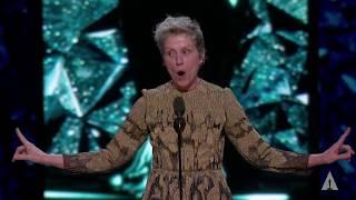 Download Frances McDormand wins Best Actress Video