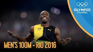 Download Men's 100m Final | Rio 2016 Replay Video