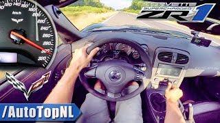 Download Corvette ZR1 6.2 V8 SUPERCHARGED 300km/h AUTOBAHN POV by AutoTopNL Video